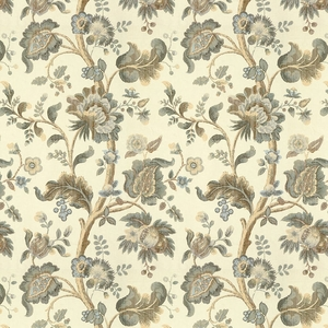 LEE JOFA TREYES PRINT FABRIC SAGE