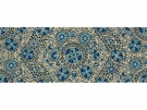 LEE JOFA TURKISTAN SUZANI LINEN FABRIC BLUES