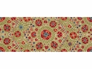 LEE JOFA TURKISTAN SUZANI LINEN FABRIC RED GREEN