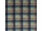 LEE JOFA VELVET ANCIENT TARTAN PLAID FABRIC BLUE AQUA