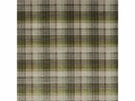 LEE JOFA VELVET ANCIENT TARTAN PLAID FABRIC GREY GREEN