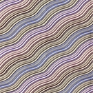 LEE JOFA WATER STRIPE EMB WAVE LINEN FABRIC PLUM