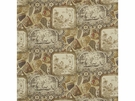 MULBERRY CHINA LINEN PRINT FABRIC SPICE