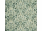 MULBERRY HOME HEIRLOOM PAISLEY FABRIC AQUA LEAF