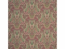 MULBERRY HOME HEIRLOOM PAISLEY FABRIC DAMSON