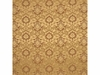 MULBERRY WATERCOLOUR DAMASK FABRIC SAND/NUTMEG