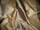 PASARI DURAN SILK STRIPES FABRIC BRONZE GOLD