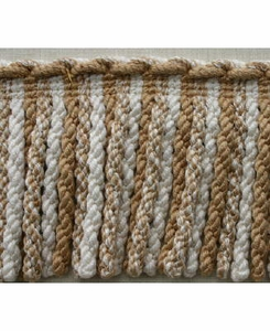 PASSEMENTERIE BULLION/FRINGE VISCOSE TRIM BEIGE FROM ITALY