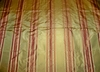 "PINDLER ""PIEDMONTE"" SATIN STRIPES SILK FABRIC GOLD"