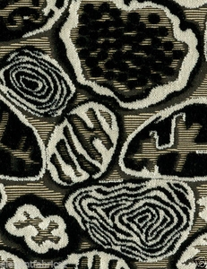 POLLACK EXCLUSIVE ODYSSEY WOVEN CUT VELVET FABRIC NIGHT & DAY