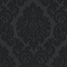 RALPH LAUREN ALBERTINE DAMASK FABRIC JET