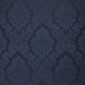 RALPH LAUREN ALBERTINE DAMASK FABRIC PRUSSIAN BLUE