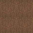 RALPH LAUREN ASSYRIA PAISLEY FABRIC RED