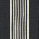 RALPH LAUREN ATLANTIC LINEN STRIPE FABRIC VINTAGE BLACK