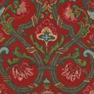 RALPH LAUREN CADIZ FLORAL FABRIC RED MULTI