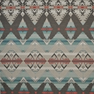 RALPH LAUREN CROW WARRIOR BLANKET FABRIC TURQUOISE