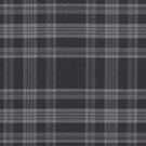 RALPH LAUREN DEERPATH TRAIL WOOL PLAID FABRIC CHARCOAL