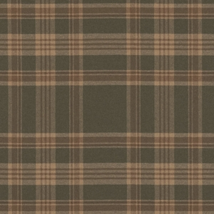 RALPH LAUREN DEERPATH TRAIL WOOL PLAID FABRIC MEADOW
