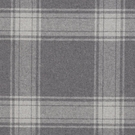 RALPH LAUREN DOUBLEBROOK PLAID FABRIC GREY FLANNEL