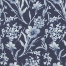 RALPH LAUREN GINGER FLOWER BATIK FABRIC PORCELAIN
