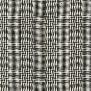 RALPH LAUREN HUGHES GLEN PLAID FABRIC GRAPHITE