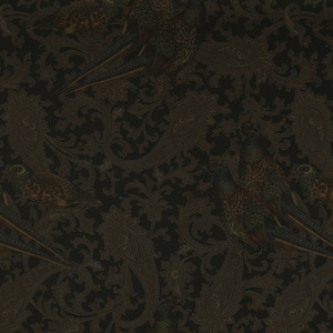 RALPH LAUREN HUNTING MANOR WOOL PAISLEY FABRIC