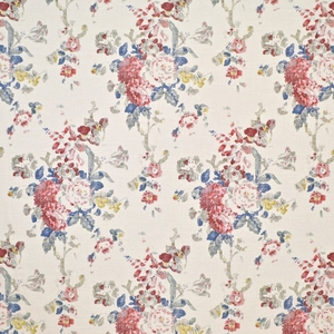 RALPH LAUREN JARDIN BOUQUESTS FLORAL FABRIC SUMMER CANVAS