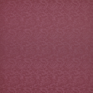 RALPH LAUREN LES BAUX DAMASK FABRIC VINTAGE RED