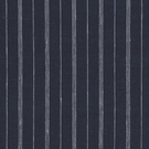 RALPH LAUREN MEAD LINEN STRIPE FABRIC NAVY