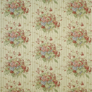 RALPH LAUREN MEETING HOUSE FLORAL FABRIC GRAIN SACK