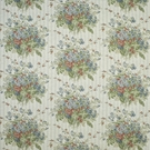 RALPH LAUREN MEETING HOUSE FLORAL FABRIC SLATE