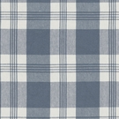 RALPH LAUREN  MILL POND PLAID CHECK FABRIC CHAMBRAY CREAM