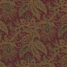 RALPH LAUREN NORTHCLIFFE PAISLEY COTTON PRINT FABRIC JUNIPER