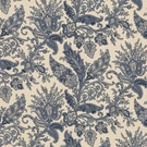 RALPH LAUREN NORTHCLIFFE PAISLEY COTTON PRINT FABRIC PORCELAIN