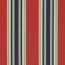 RALPH LAUREN NORTHPORT STRIPE FABRIC BLAZE