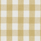 RALPH LAUREN OLD FORGE GINGHAM LINEN FABRIC GOLDEN WHITE