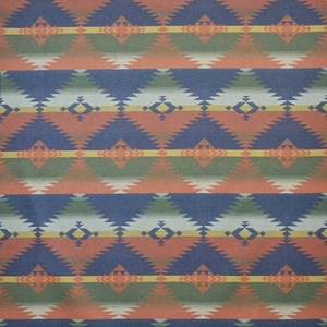 RALPH LAUREN RED ROCK SOUTHWESTERN WOOL BLANKET FABRIC HARVEST