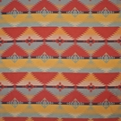 RALPH LAUREN RED ROCK SOUTHWESTERN WOOL BLANKET FABRIC SUNBLAZE