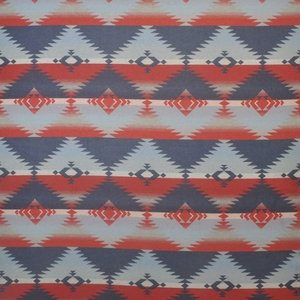 RALPH LAUREN RED ROCK SOUTHWESTERN WOOL BLANKET FABRIC WOODMOSS