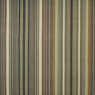 RALPH LAUREN SANTA YSABEL STRIPE FABRIC TOBACCO
