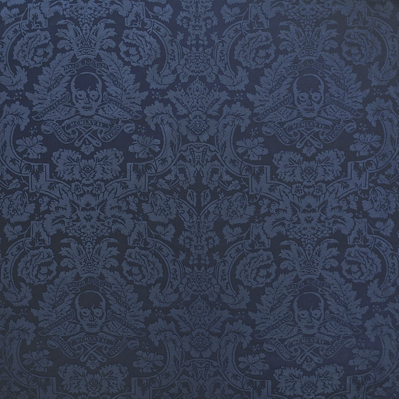 Ralph Lauren Secret Society Damask Fabric Twilight