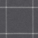 RALPH LAUREN WESTCLIFF TATTERSAL WOOL PLAID FABRIC CHARCOAL
