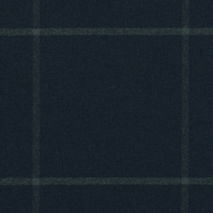 RALPH LAUREN WESTCLIFF TATTERSAL WOOL PLAID FABRIC HUNTER