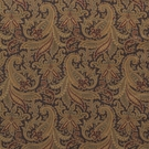 RALPH LAUREN WHITTINGTON PAISLEY VELVET FABRIC SABLE