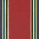 RALPH LAUREN WINDANDSEA STRIPE FABRIC INDOOR/OUTDOOR RED