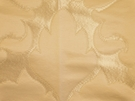 SAMPLE BEACON HILL BLOSSOM FRAME SILK JACQUARD EMBROIDERED FABRIC IVORY