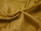 SAMPLE BEACON HILL DELAPIERRE OLD WORLD SILK FABRIC ALABASTER