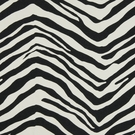 SAMPLE BEACON HILL MOUNTBATTEN ANIMAL UPHOLSTERY FABRIC BLACK