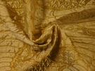 SAMPLE BEACON HILL WINGED VICTORY ANIMALE SILK FABRIC GOLD
