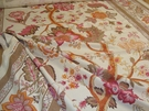 SAMPLE BRUNSCHWIG & FILS BELLARY TREE OF LIFE INDIAN PALAMPORES W BORDERS -ROSE TUMERIC MULTI